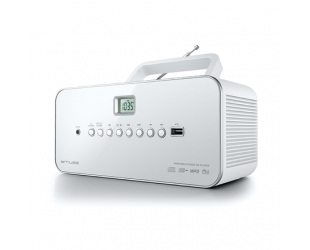 Radijo imtuvas Muse M-28RDW White, CD, MP3, USB
