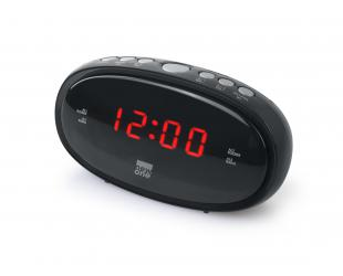 Radijo imtuvas New-One Clock-radio CR100 Black, Alarm function