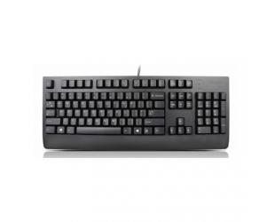 Klaviatūra Lenovo Preferred Pro II  4X30M86908 Keyboard, USB, Keyboard layout English/RUS, Black, No, Russian / Cyrillic, Numeric keypad