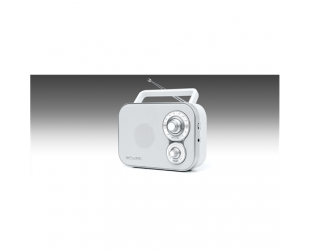 Radijo imtuvas Muse Portable Radio M-051RW White, AUX in