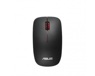 Belaidė pelė Asus WT300 RF Optical mouse, Wireless connection, No, Black/Red