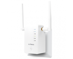 Belaidės prieigos taškas Edimax Extender RE11S 802.11ac, 2.4GHz/5GHz GHz, 300+867 Mbit/s, 10/100/1000 Mbit/s, Ethernet LAN (RJ-45) ports 1, 2 x External detachable