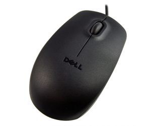 Pelė Dell Mouse MS116 Wired, No, Black, No, Optical