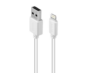 Kabelis Acme Cable CB1032W 2 m, White, Lightning, USB A