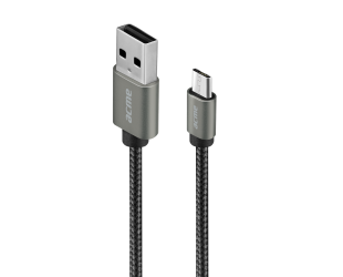 Kabelis Acme Cable CB2011G 1 m, Space Gray, Micro USB, USB A