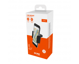 Laikiklis Acme PM2103 Black, Adjustable, 360 °, Clamp air vent smartphone car mount