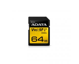 Atminties kortelė ADATA Premier ONE UHS-II U3 64GB Micro SDXC CL10