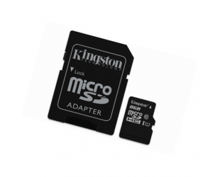 Atminties kortelė Kingston Industrial Temperature UHS-I U1 8GB Micro SDHC CL10 su SD adapteriu