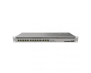 Komutatorius MikroTik Router Switch RB1100AHx4 Web Management, Rack mountable, 1 Gbps (RJ-45) ports quantity 13, Power supply type Dual Redundant, Ro