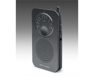 Radijo imtuvas Muse Pocket radio M-01 RS Black