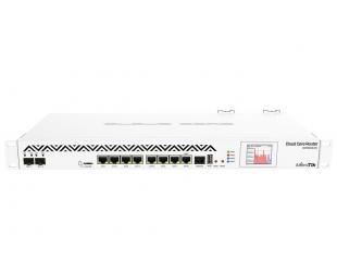 Maršrutizatorius MikroTik Cloud Core Router CCR1036-8G-2S+ 10/100/1000 Mbit/s, Ethernet LAN (RJ-45) ports 8, 1 x USB type A, 2 x SFP+