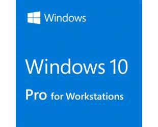 Operacinė sistema Microsoft Windows 10 Pro for Workstation HZV-00055 DVD, OEM, English