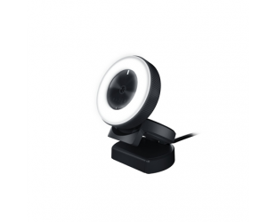 Web kamera Razer Kiyo - Ring Light Equipped Broadcasting Camera Connection type: USB2.0. Fast & Accurate Autofocus for seamlessly sharp footage.