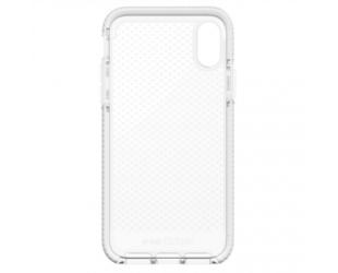 Dėklas Tech21 Evo Check for iPhone X, Skaidrus/Balta