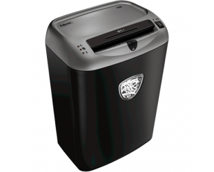 Dokumentų naikiklis Fellowes Shredder Powerchred 70S Black, 27 L, Paper shredding, Shredding CDs, Credit cards shredding, Paper handling standard/output Shreds 14 sheets per pass into 5.8mm strips (Security Level P-2), Traditional