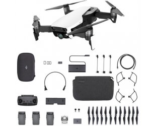 Dronas DJI Mavic Air Fly More Combo, Arctic White