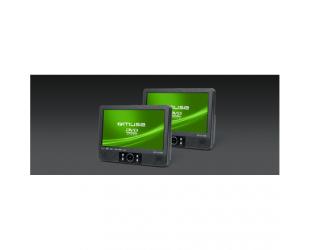 """Automobilinis DVD grotuvas Muse DVD M-995CVB 2 vnt DVD grotuvai su 9"""" ekranu, USB"""