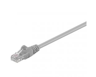Kabelis Goobay CAT 5e patch cable, U/UTP RJ45 male (8P8C), RJ45 male (8P8C), 1 m, Grey