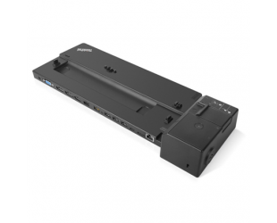 Jungčių stotelė Lenovo ThinkPad Ultra Docking Station 40AJ0135EU, max 3 displays, Ethernet LAN (RJ-45) ports 1, VGA (D-Sub) ports quantity 1, DisplayPorts quantity 2, HDMI ports quantity 1, Ethernet LAN, USB 3.0 (3.1 Gen 1) Type-C ports quantity 2 x