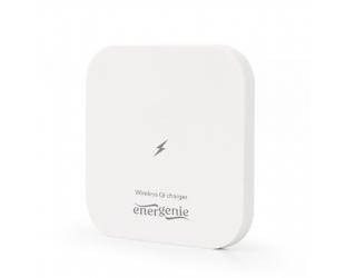 Įkroviklis Energenie Wireless Qi charger, 5 W, square, White EnerGenie