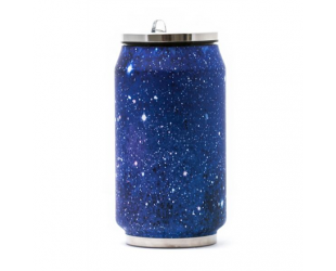 Termo gertuvė Yoko Design Canette Galaxy 1502-7942 Isothermal, Blue, tūris 0.28 L,