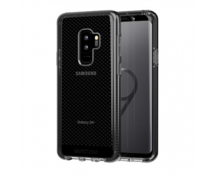 Dėklas Tech21 Evo Check for Samsung Galaxy S9 Plus, Samsung, Samsung Galaxy S9 Plus, Smokey/Juoda