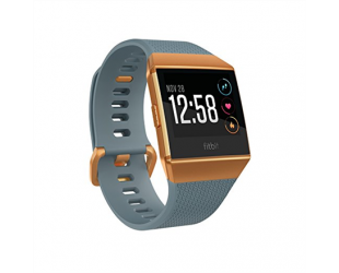 Išmanusis laikrodis Fitbit Ionic Slate Blue/Burnt Orange