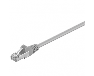 Kabelis Goobay 68618 CAT 5e patchcable, F/UTP RJ45 male (8P8C), RJ45 male (8P8C), 0,25 m, Grey