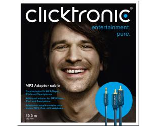 Kabelis Clicktronic MP3 audio cable 70476 1 m