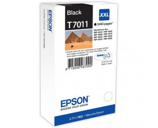 Rašalo kasetė Epson WP 4000/4500 series XXL, Black