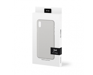 Dėklas 3MK Apple, iPhone X, Polypropylene, Skaidrus Balta