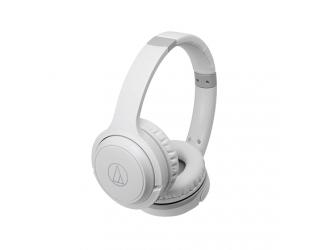 Ausinės Audio Technica and Controls ATH-S200BTWH apgaubiančios ausis, belaidės, su mikrofonu