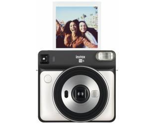 Momentinis fotoaparatas Fujifilm Instax Square SQ6 Instant + Square glossy popierius (10 vnt) Peral white