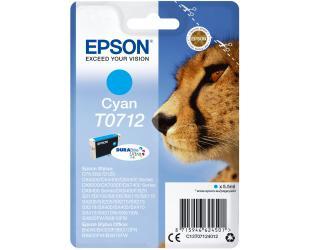 Rašalo kasetė Epson T0712, Cyan