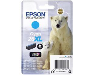 Rašalo kasetė Epson 26XL, Cyan