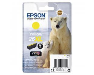 Rašalo kasetė Epson 26XL, Yellow