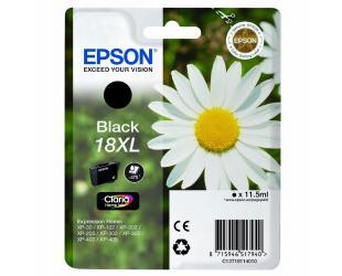 Rašalo kasetė Epson 18XL, Black