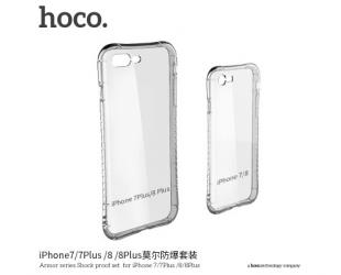 Dėklas hoco. Armor series, Apple, iPhone 7 Plus /8 Plus, TPU, Skaidrus