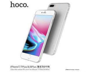 Dėklas hoco. Ultra thin series, Apple, iPhone 7 Plus/8 Plus, PP, Skaidrus