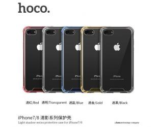 Dėklas hoco. Light Series TPU and Film Set , Apple, iPhone 7 Plus/8 Plus, Highly permeable TPU raw materials, Balta