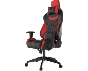 Žaidimų kėdė Gamdias Achilles E2-L BR, Black/Red. Adjustable backrest, handlebars.  Gamdias