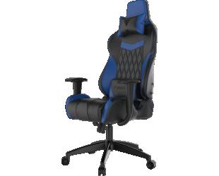 Žaidimų kėdė Gamdias Achilles E2-L, Black/Blue