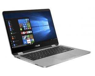 "Nešiojamas kompiuteris Asus VivoBook Flip 14 J401MA-EC083TS Light Grey 14"" TOUCH FHD N4000 4GB Windows 10"