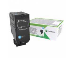 Toneris Lexmark 25K Corporate (CX725), Cyan