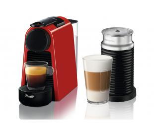 Kapsulinės kavos aparatas Delonghi  EN 85.R Essenza Mini slėgis 19 bar, 1150 W, Red