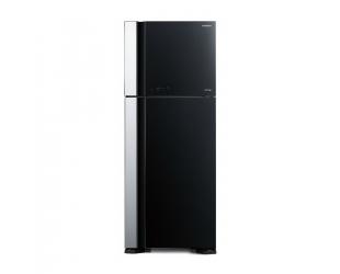 Šaldytuvas Hitachi R-VG540PRU7 (GBK) A++ Glass Black