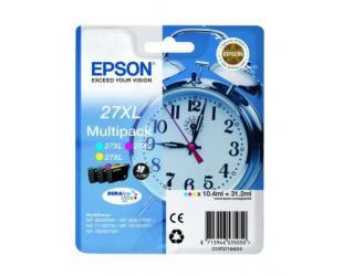 Rašalo kasetė Epson Multipack T2715 , 1 x Cyan, 1 x Magenta and 1 x Yellow