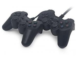 Žaidimų pultas Gembird Double USB dual vibration
