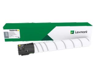 Toneris Lexmark 76C0HY0 Laser, Yellow