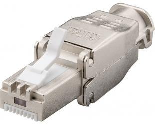 Jungtis Goobay Tool-free RJ45 network connector CAT 6 STP shielded 38292